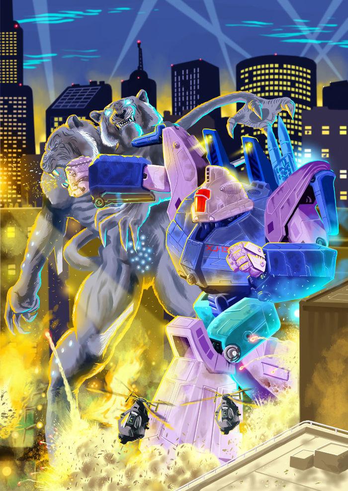 Mecha Kaiju cover