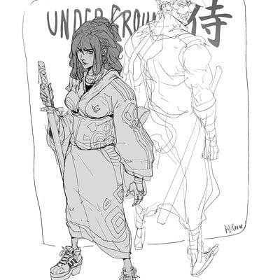 Hicham habchi samurai