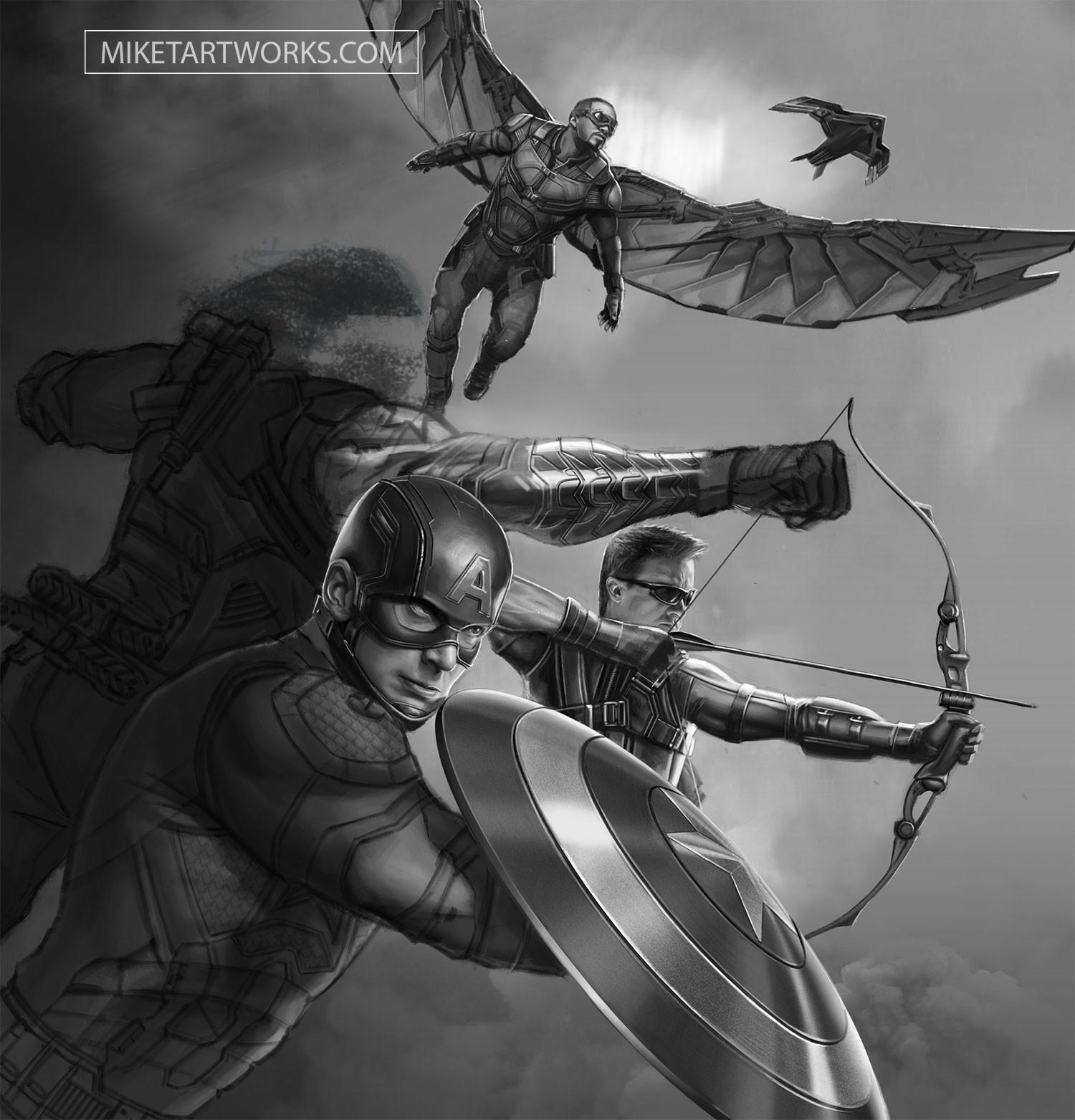 Working Grayscale 2 (Civil War)