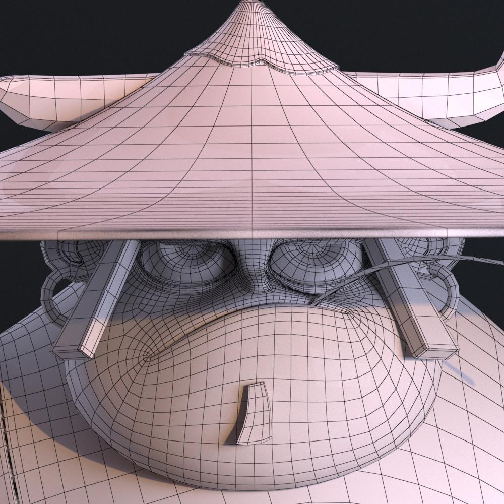 Fabio wasques samurai head wire