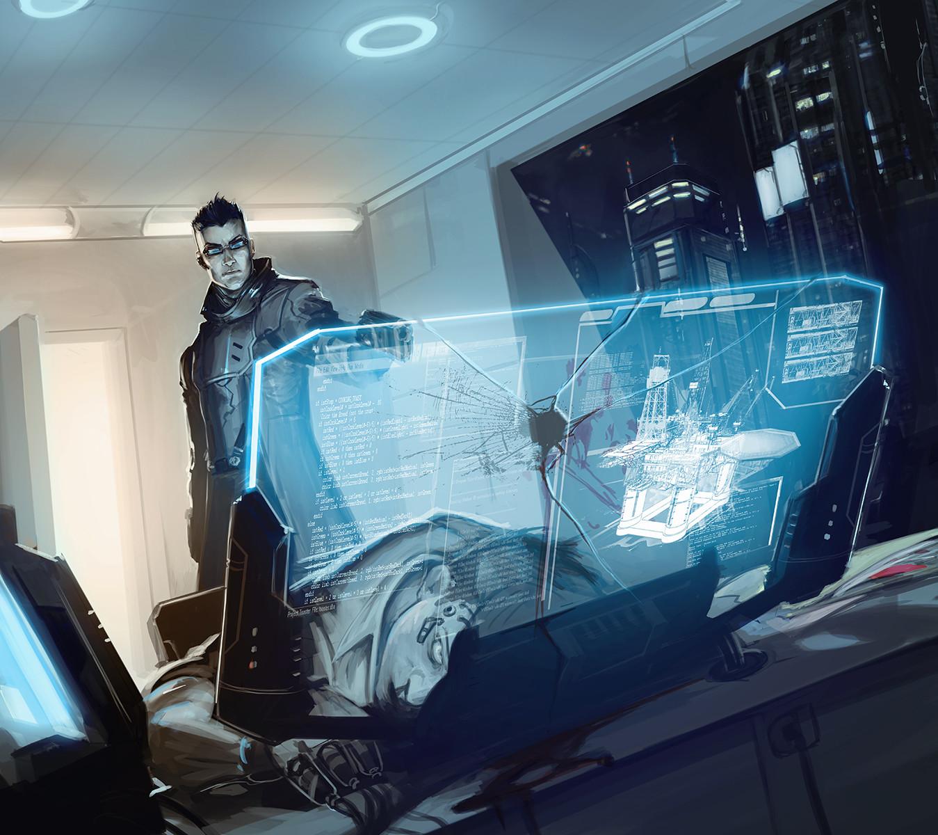 ArtStation Vulcan Coverup Adam Schumpert