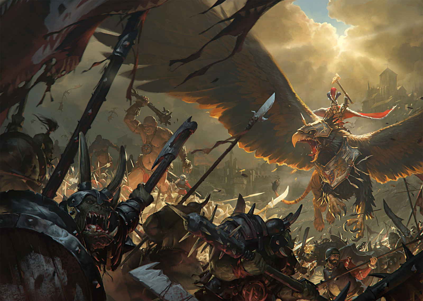 Image result for fantasy war art artstation