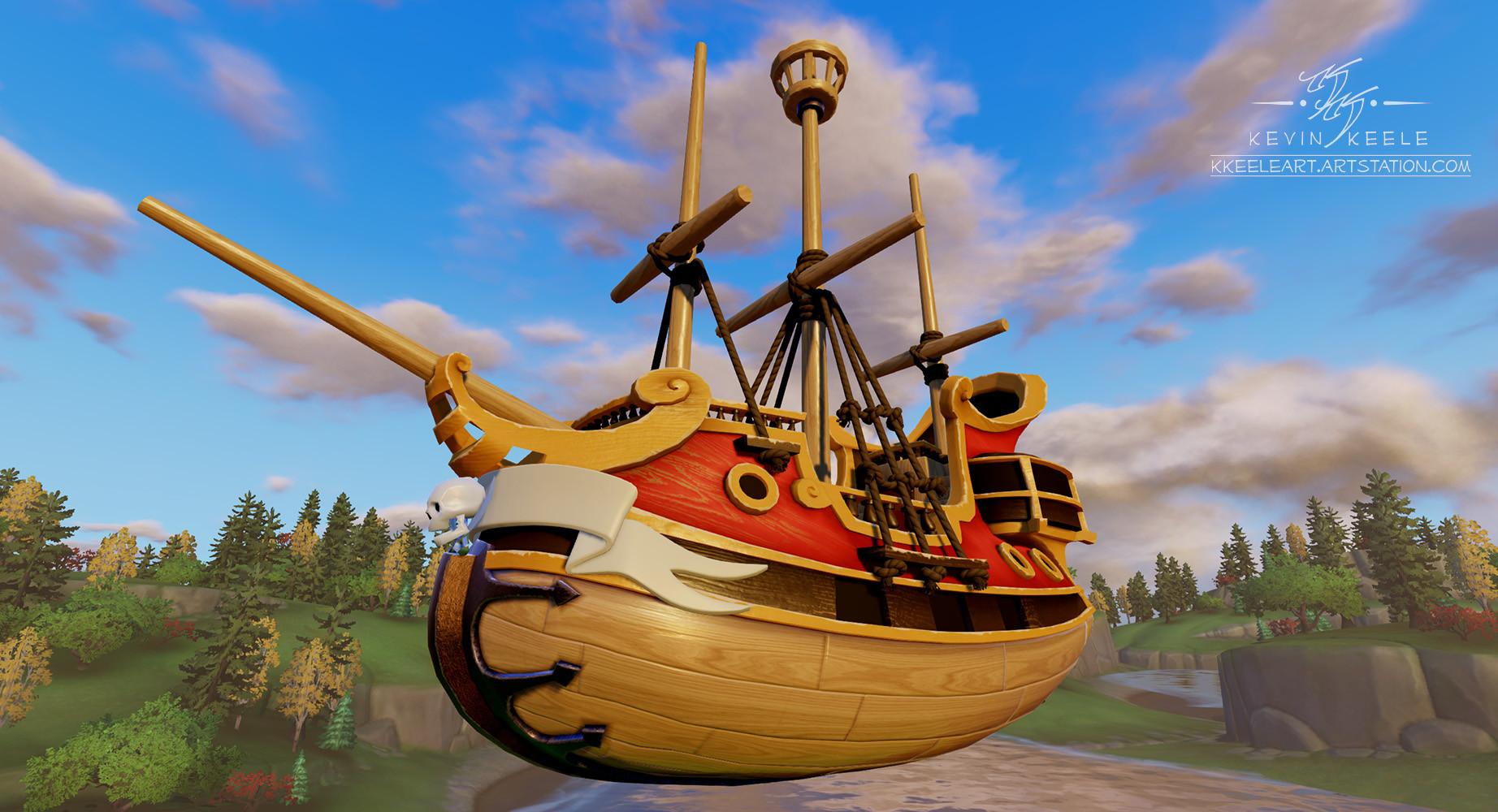 Kevin keele pirateship 1