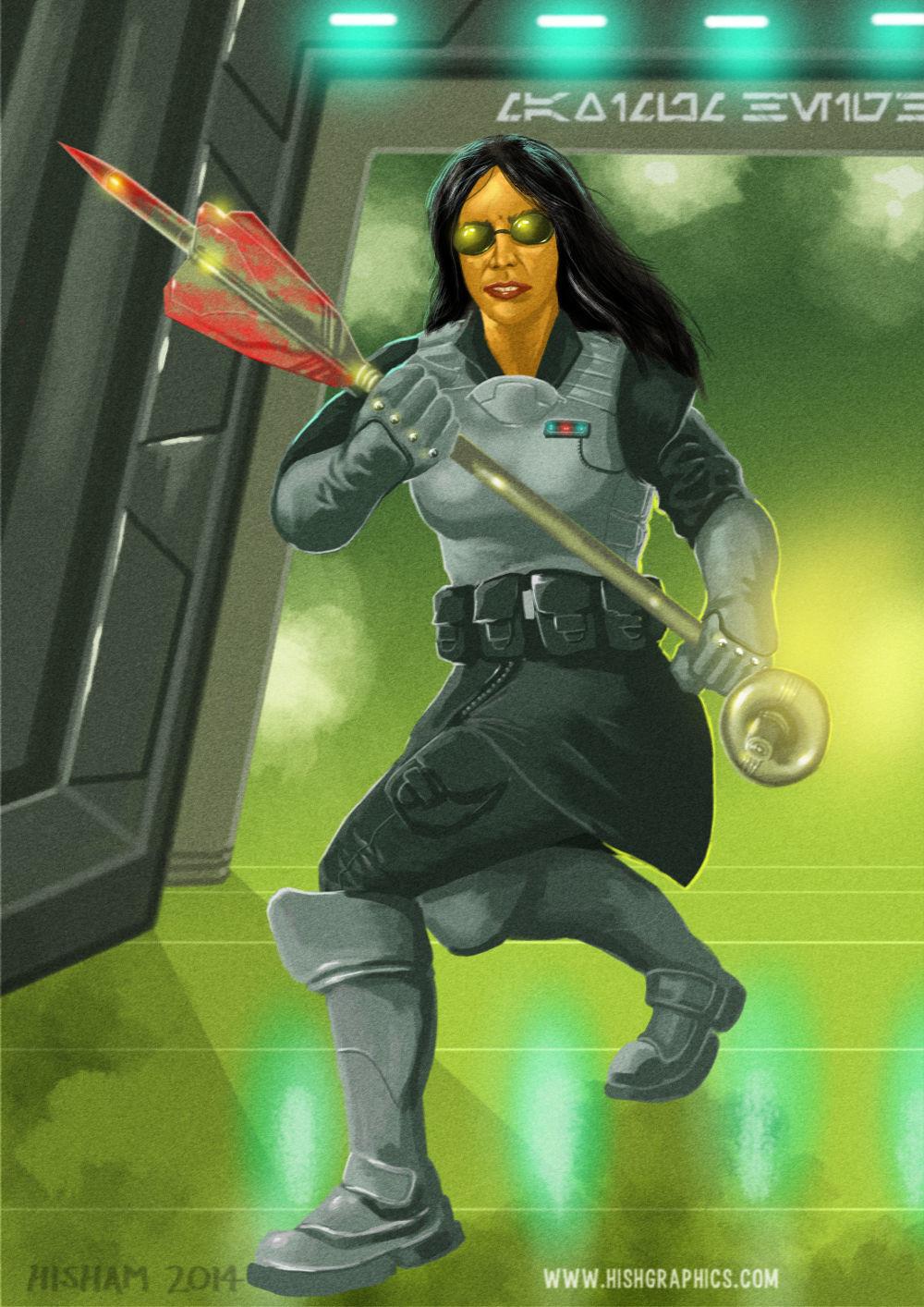 Shanna Toarinar, bounty hunter