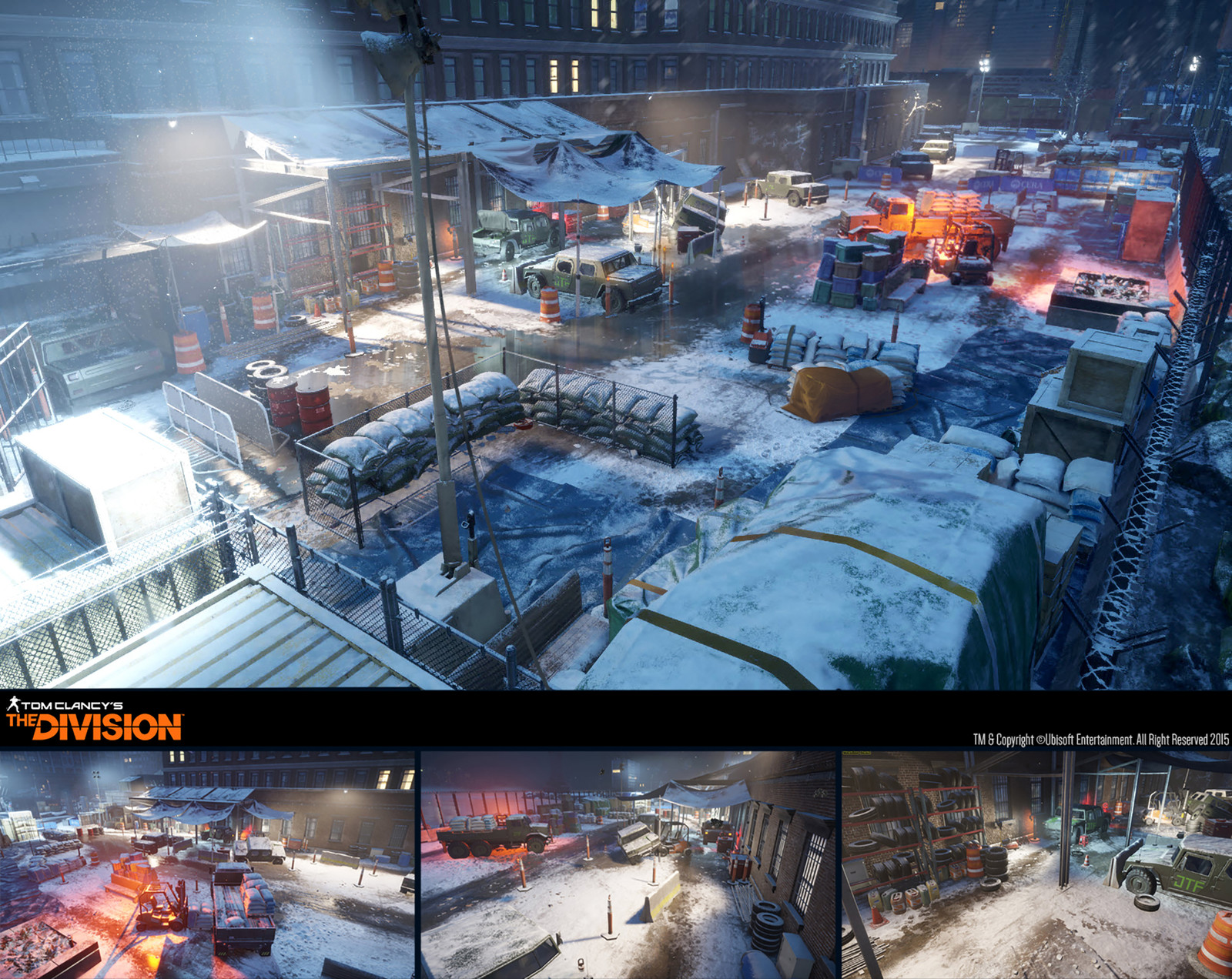 The Division /// Brooklyn Courtyard