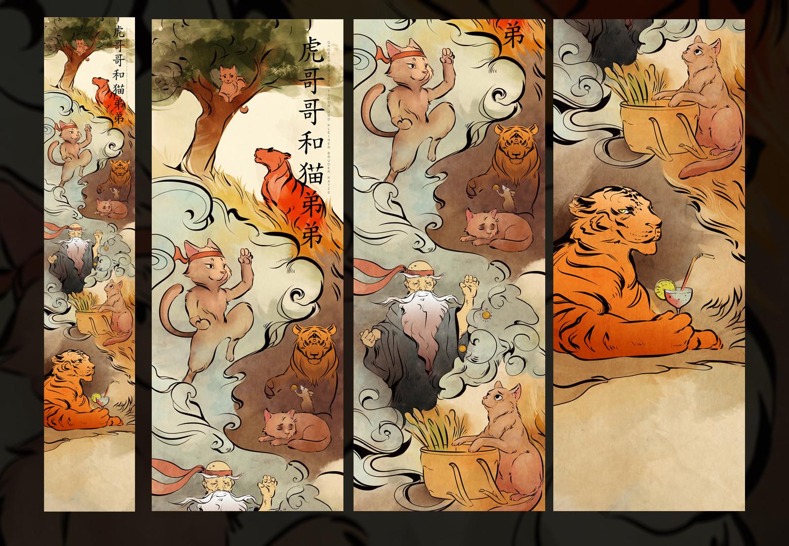 Trudy wenzel illustration chinesisch