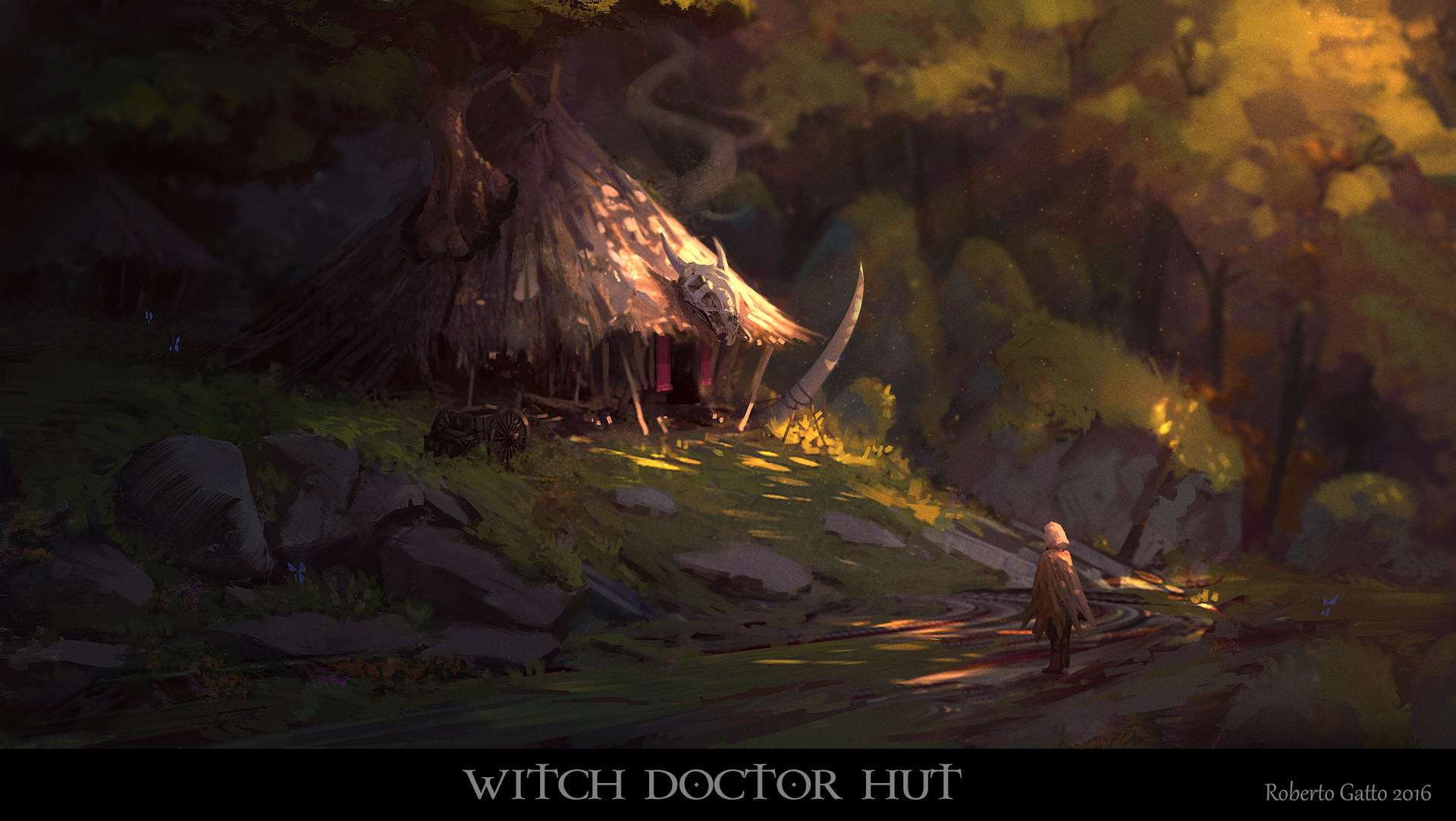 Witch doctor hut