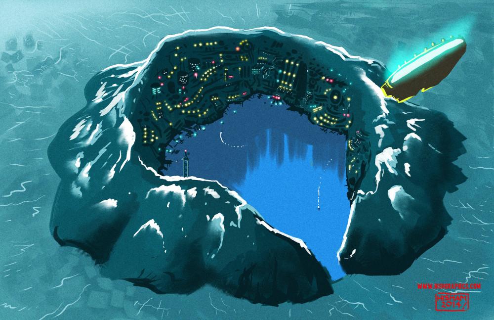 Obsidian Island, Blue Nirvada system