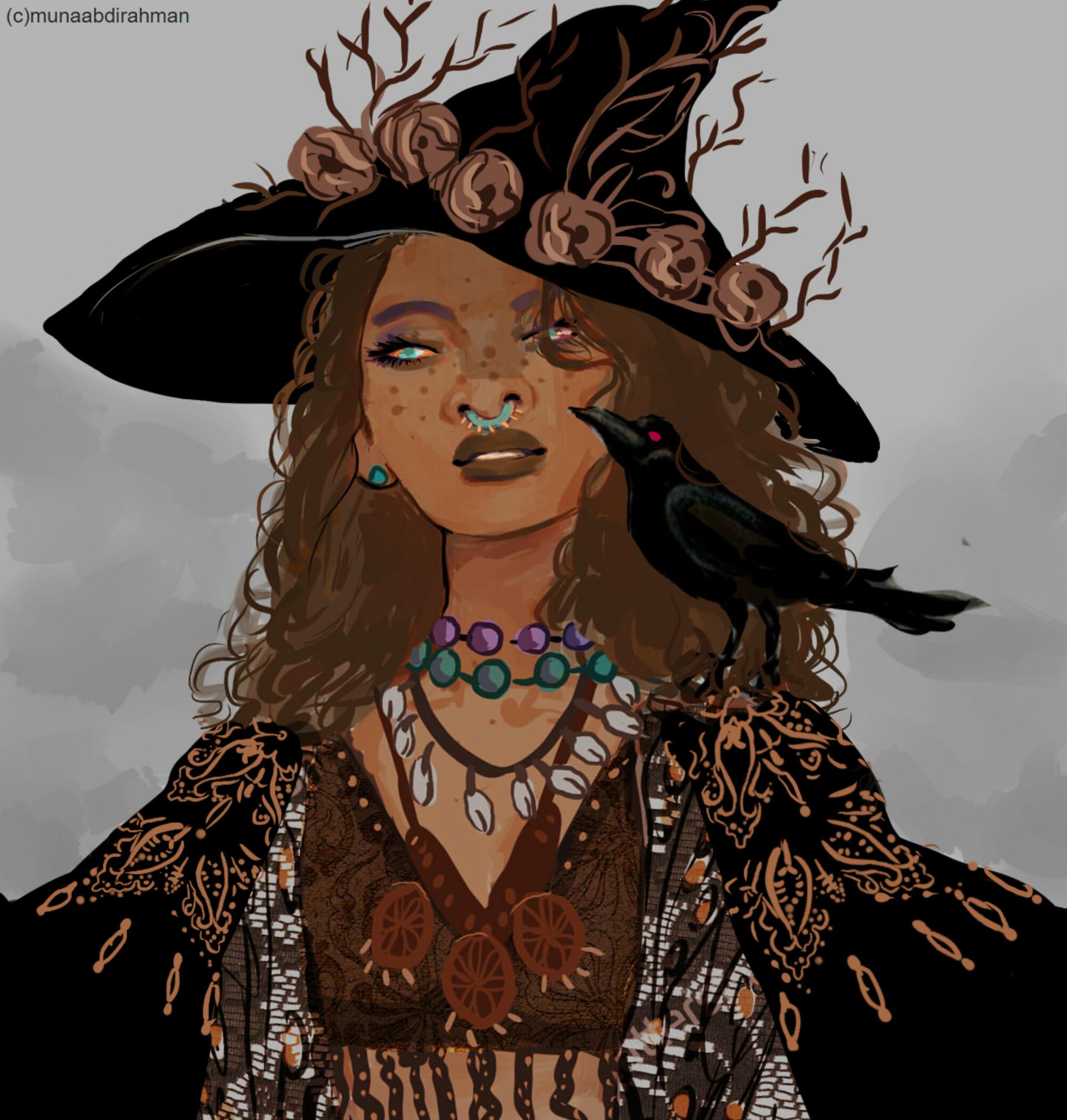 The Golden Death Witch, Muna Abdirahman