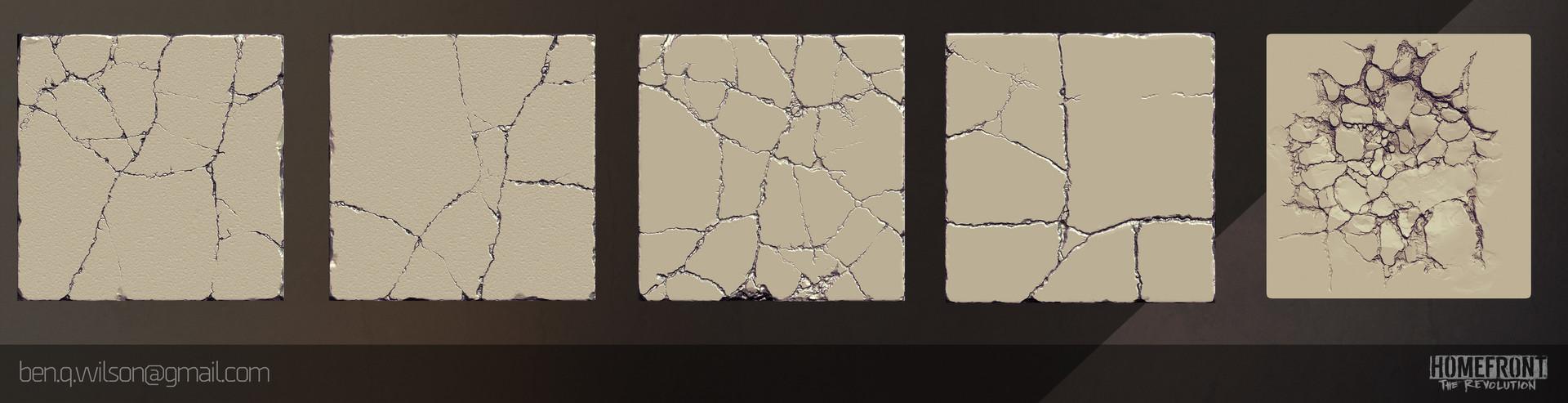 Ben wilson pavement tiles render a