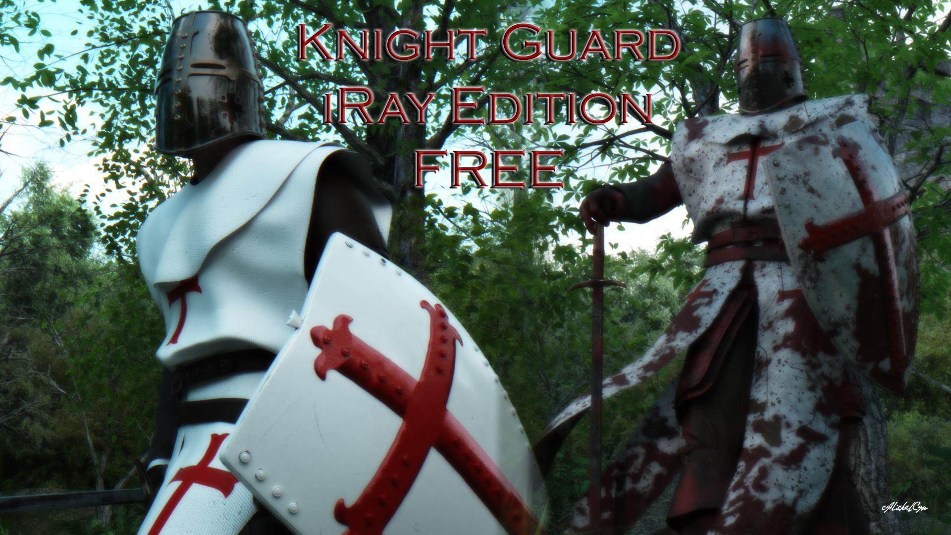 ArtStation - Templar Knight - PBR Material Retexturing, Nick Golder