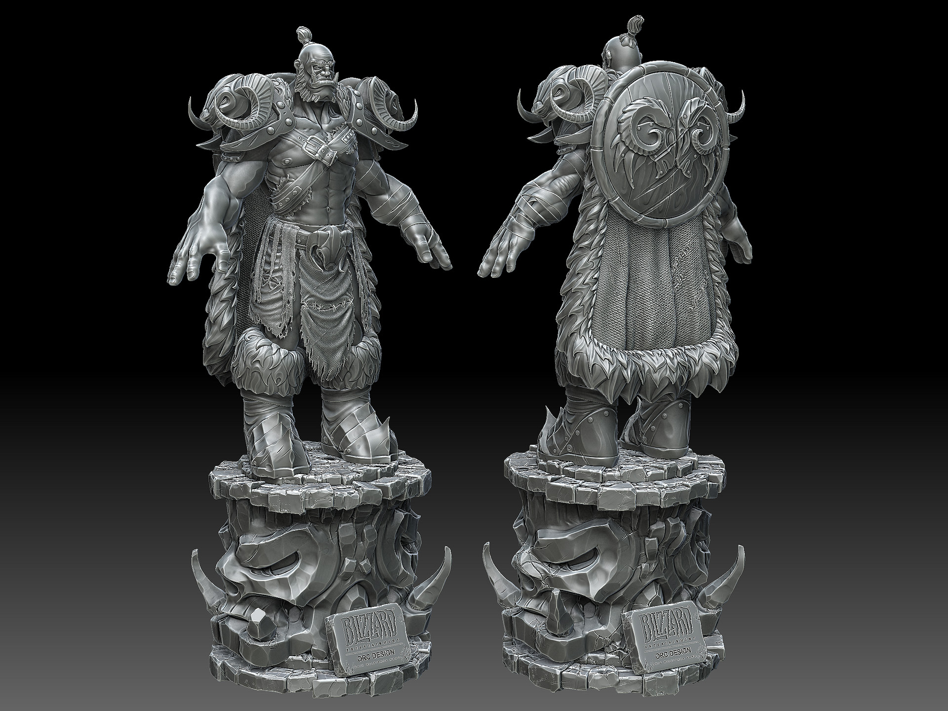Eric wilkinson orc with stand