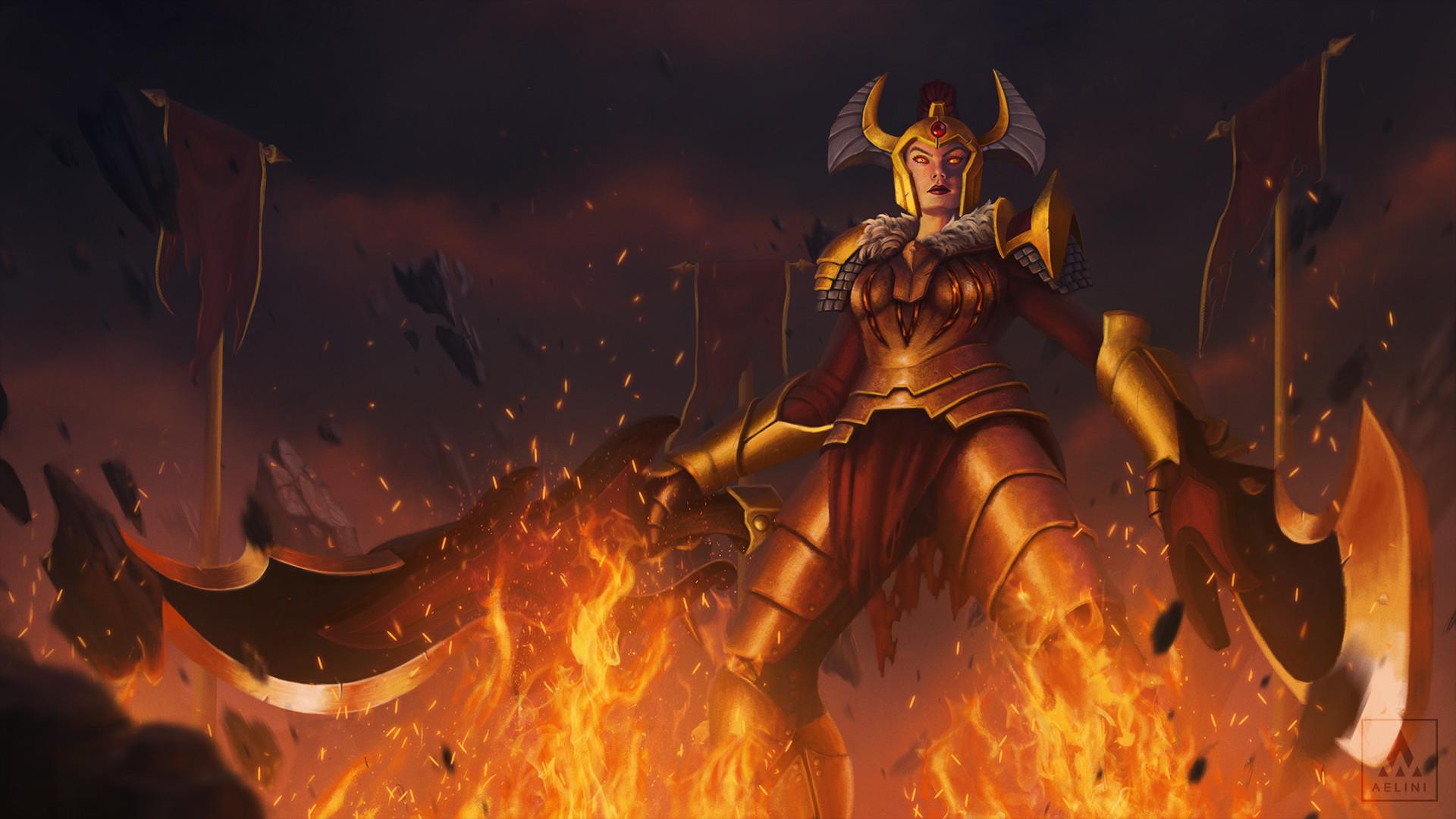 Legion Commander Arcana Giveaway   Daemonfell flame - YouTube