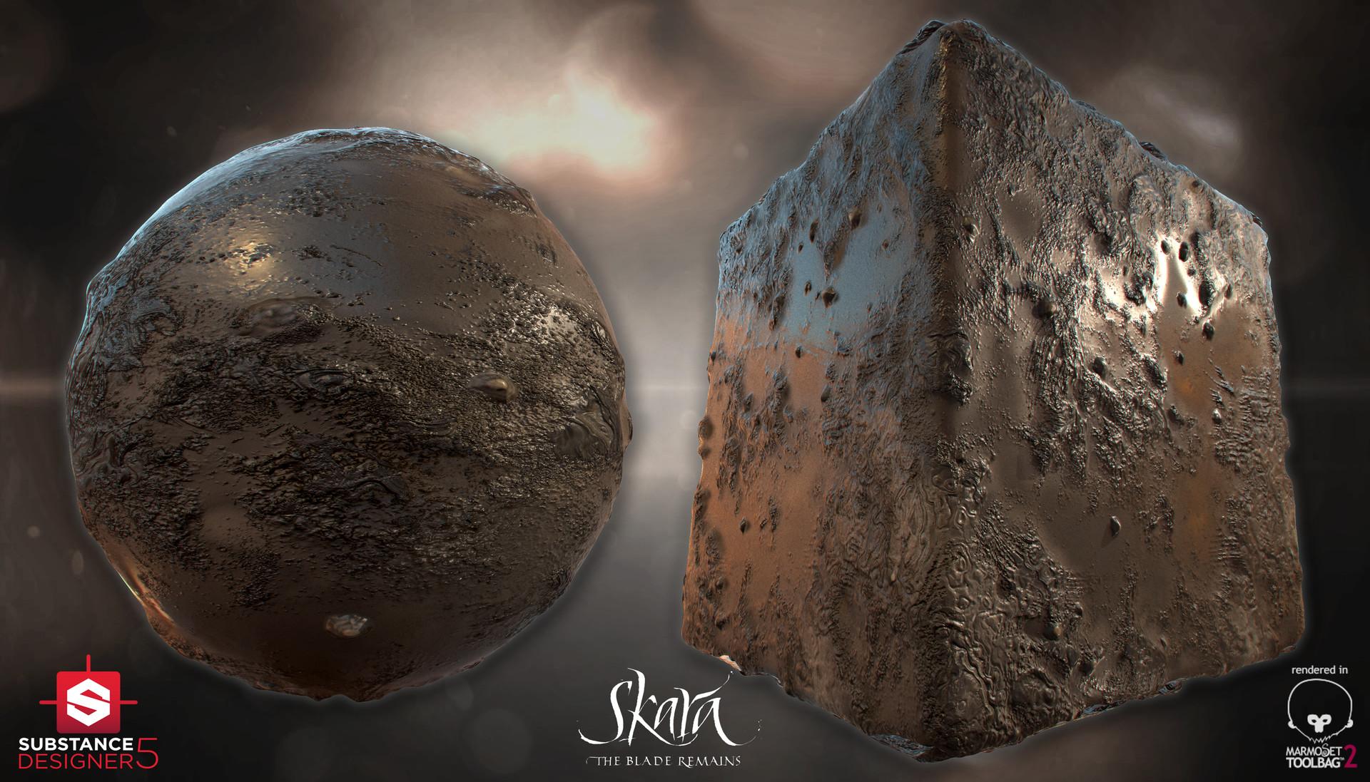 ArtStation - Mud Material - Skara: The Blade Remains, Álvaro Carreras