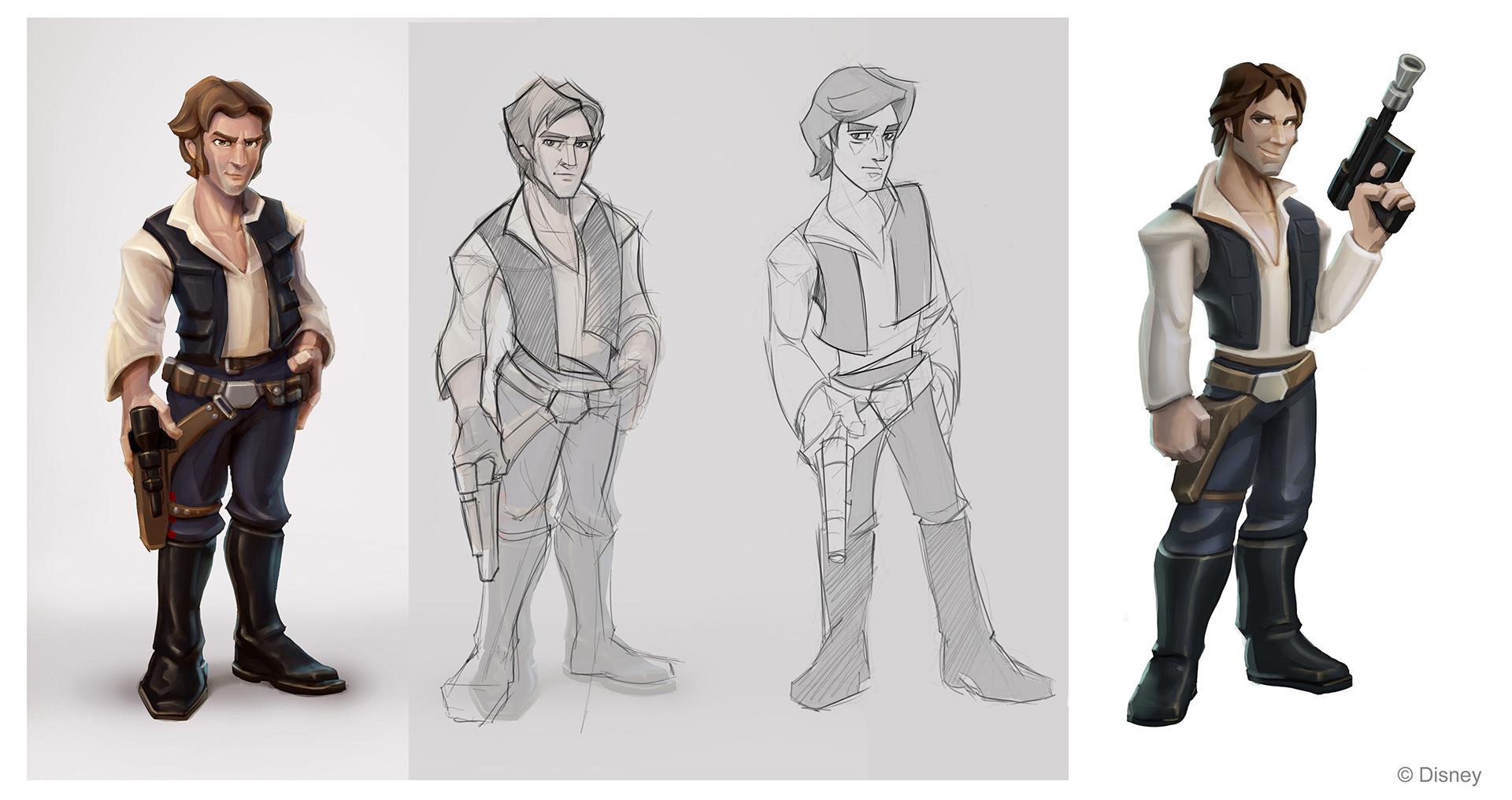 Character Design Art Station : Damian buzugbe disney infinity character design
