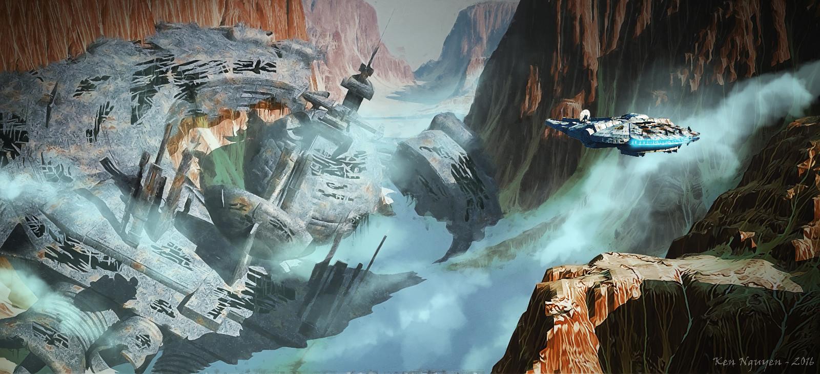 Ken Nguyen Star Wars Fan Art