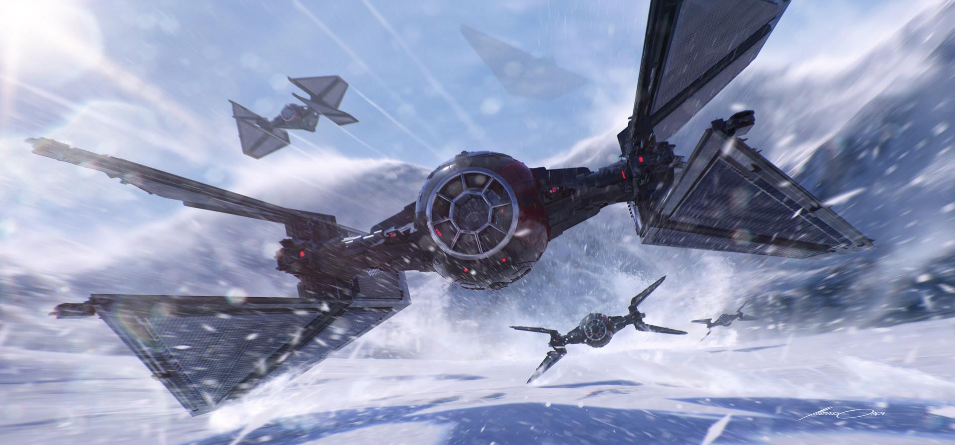 Star Wars Stormtroopers Fantasy Art Artwork Bwing Down: STAR WARS, GUS MENDONCA