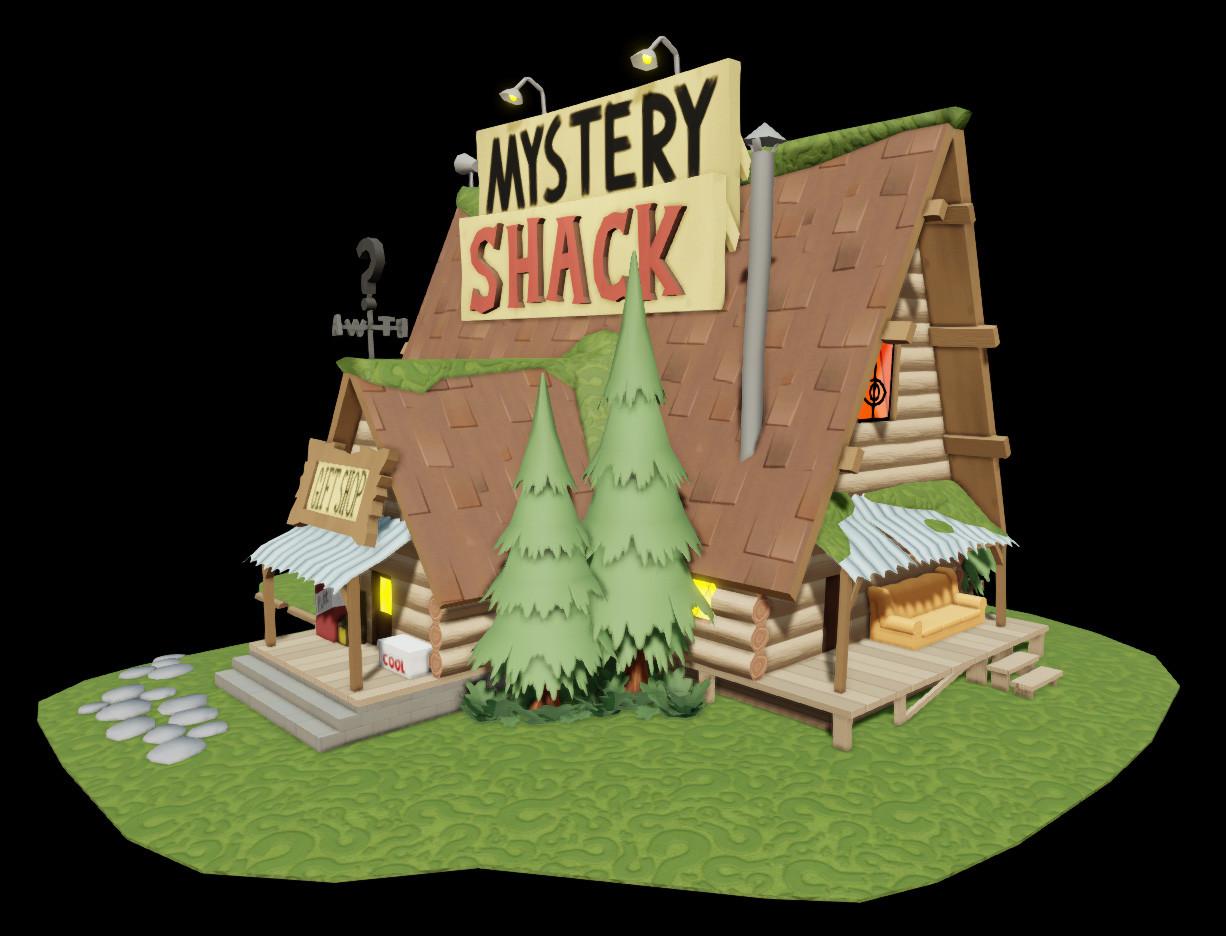 Reed Hawker Gravity Falls Mystery Shack