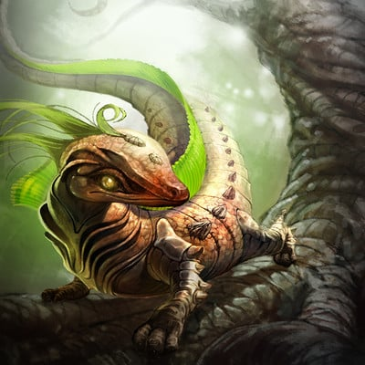 Chalmer relatorre small earth creature