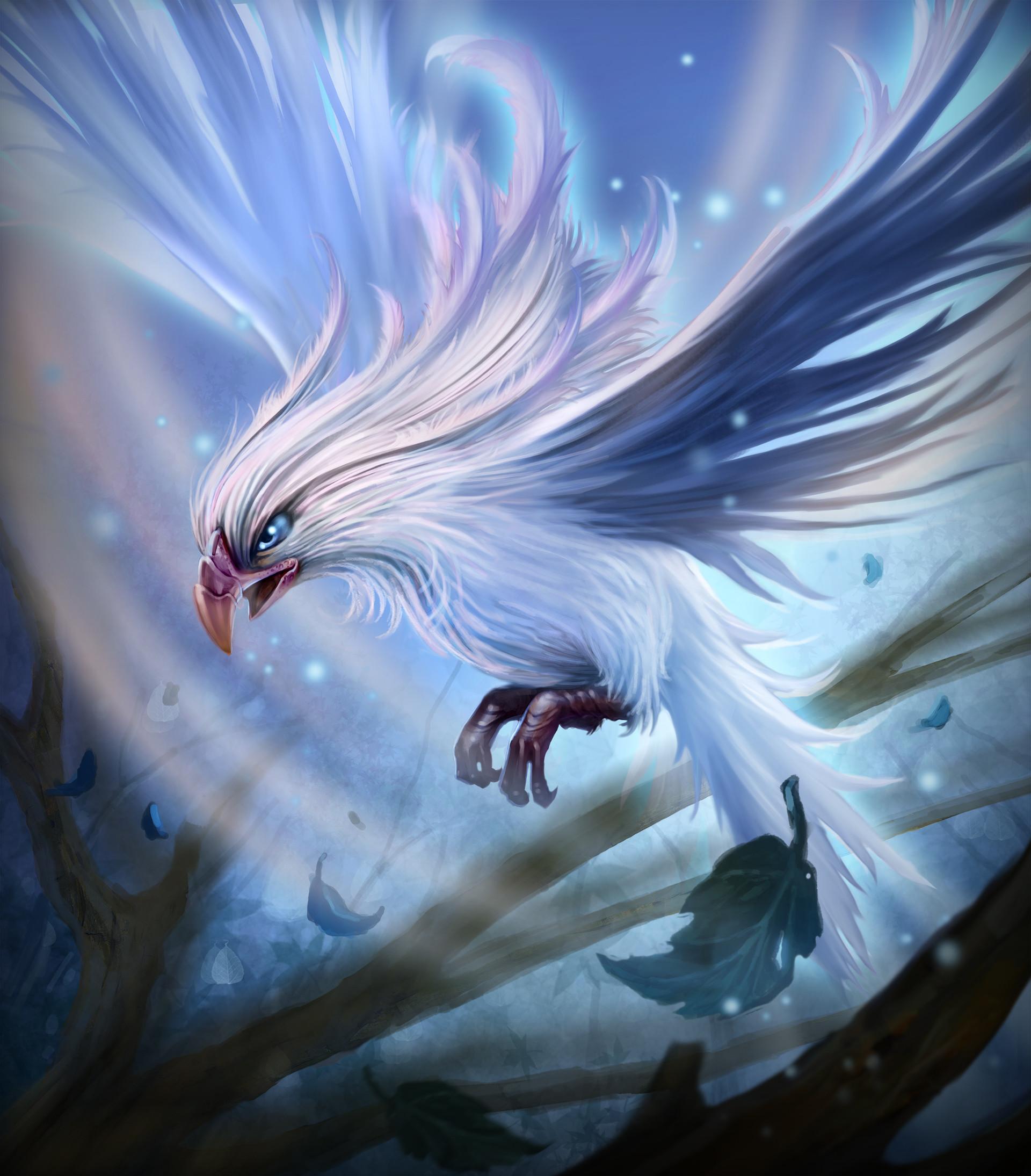 Chalmer relatorre bird wind creature