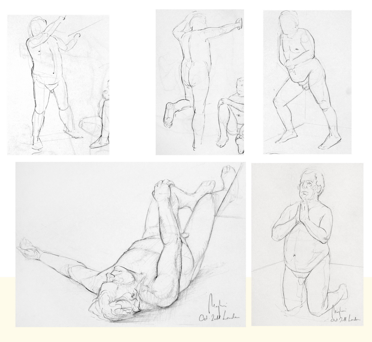 Life Drawing (pencil, paper)