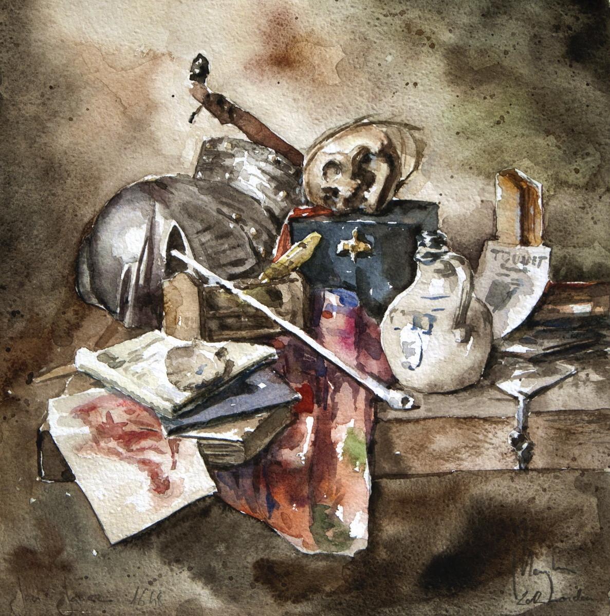 Jan Jansz Study (watercolour, paper) / National Gallery, London