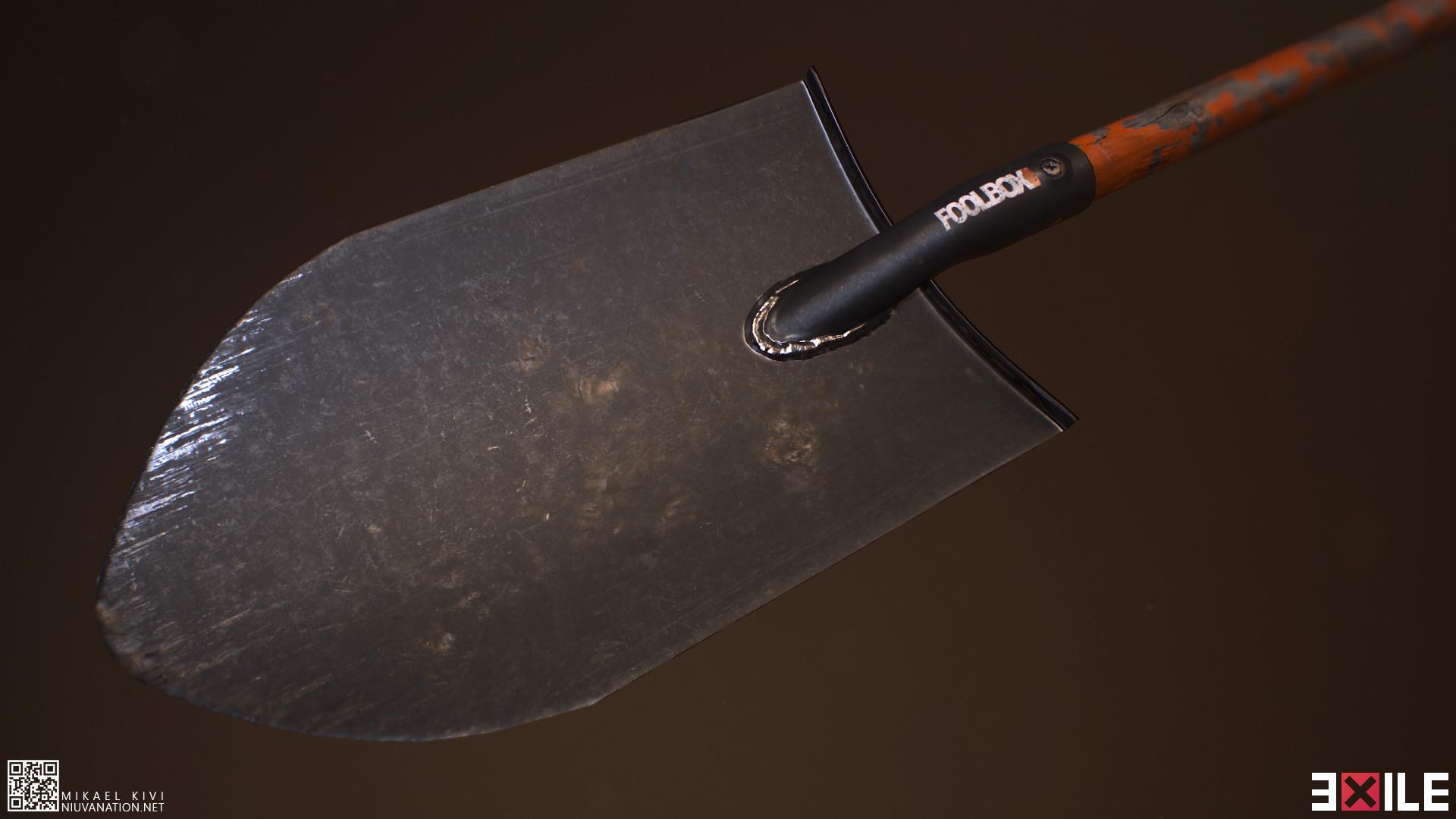 Mikael kivi exile spade01