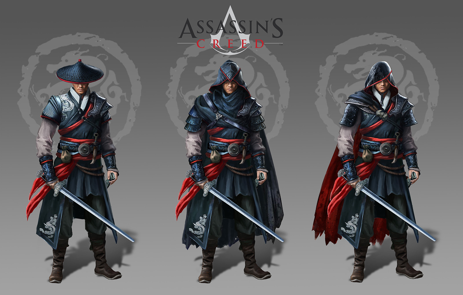 Artstation Assassin S Creed Brief For Uni Ming Dynasties