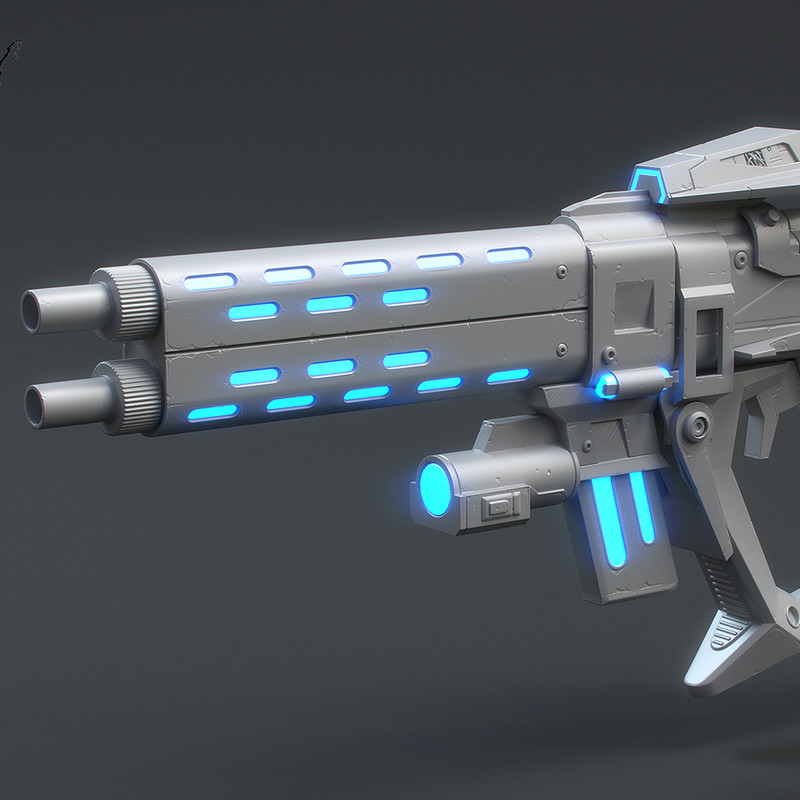 Borderlands 2 Infinity Pistol - Triforce Full-Scale Replica