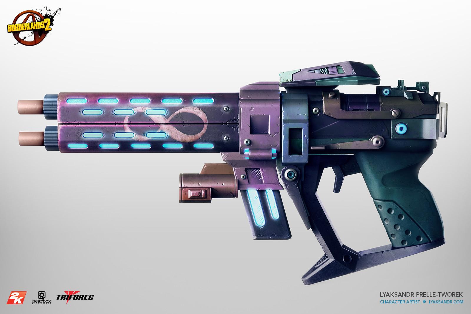 Lyaksandr prelle tworek infinity pistol website side