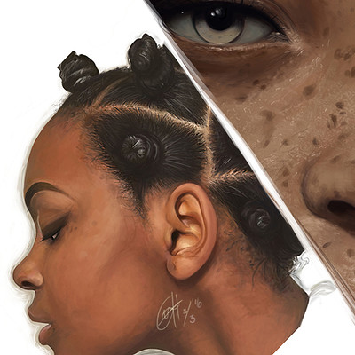 Gery han book cover about african girl