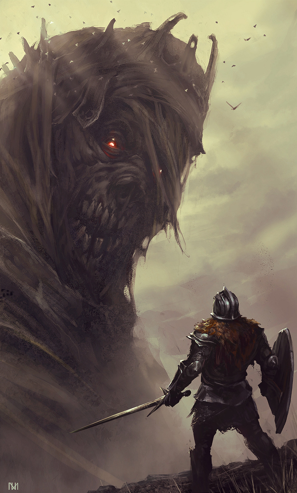 Nagy norbert dark souls fan art