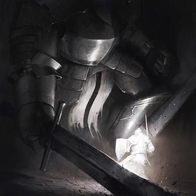 Eryk szczygiel typhonart dark souls knights