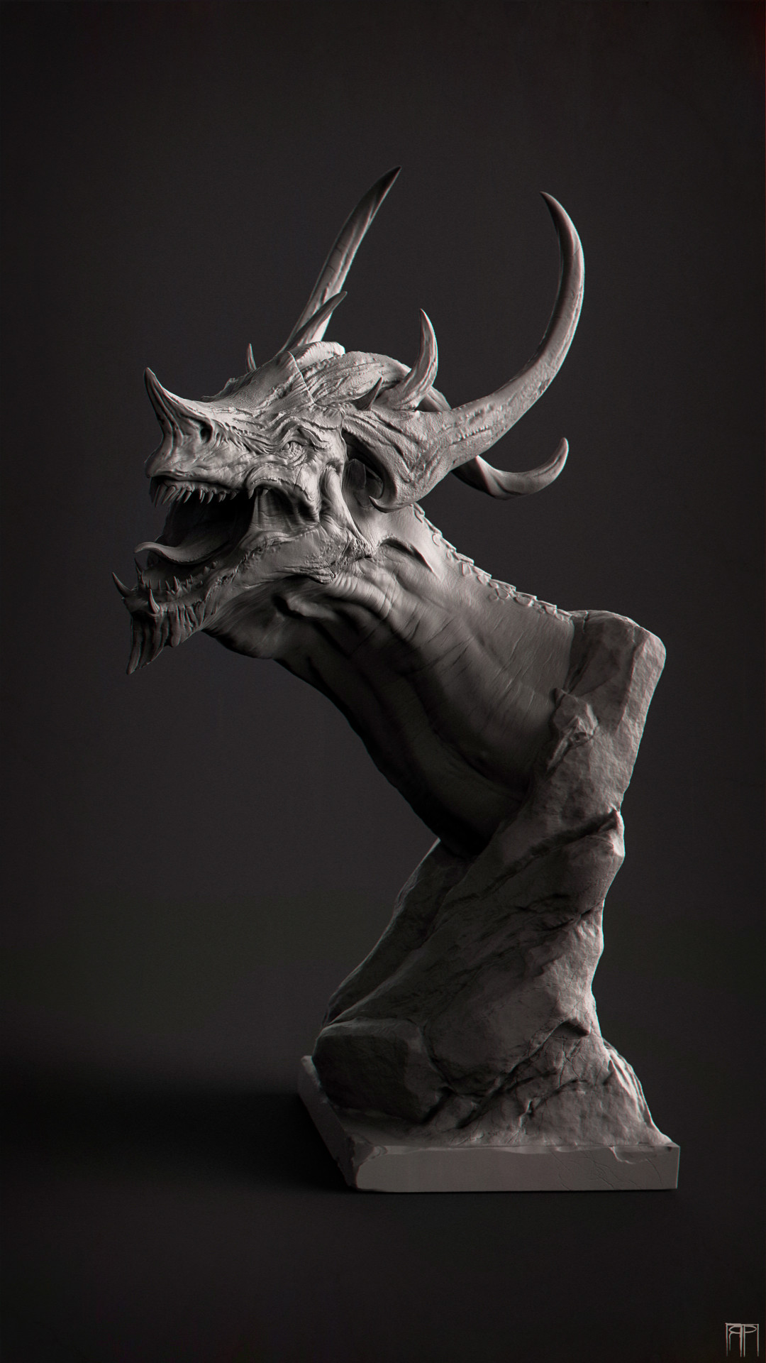 Romain pommier dragon head 2