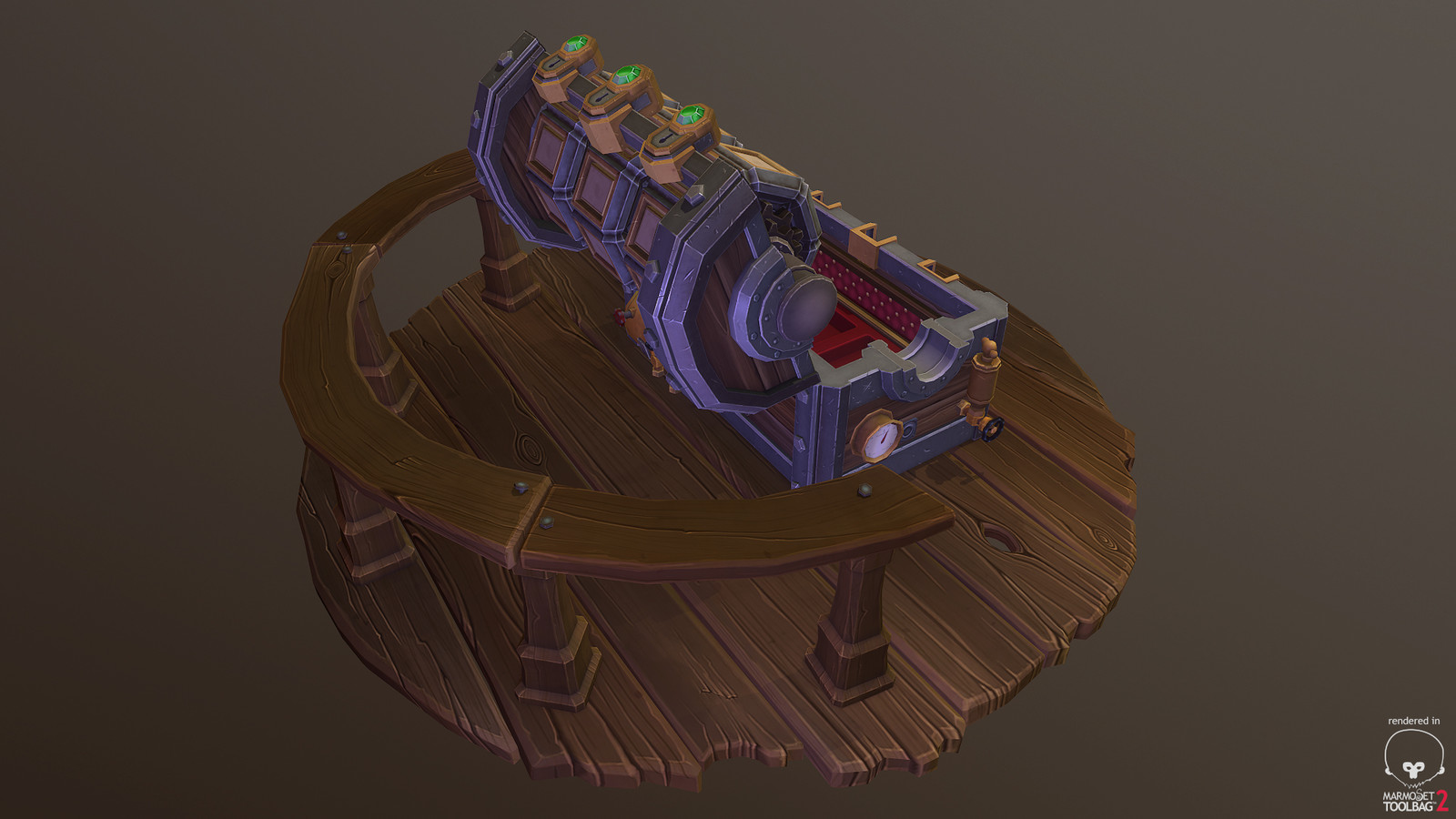 Uber Chest -  Stage Two - Just another angle of open chest.