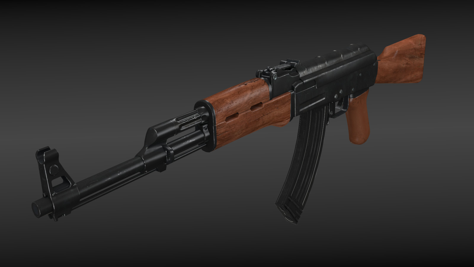 Ak-47 [Game-Ready]