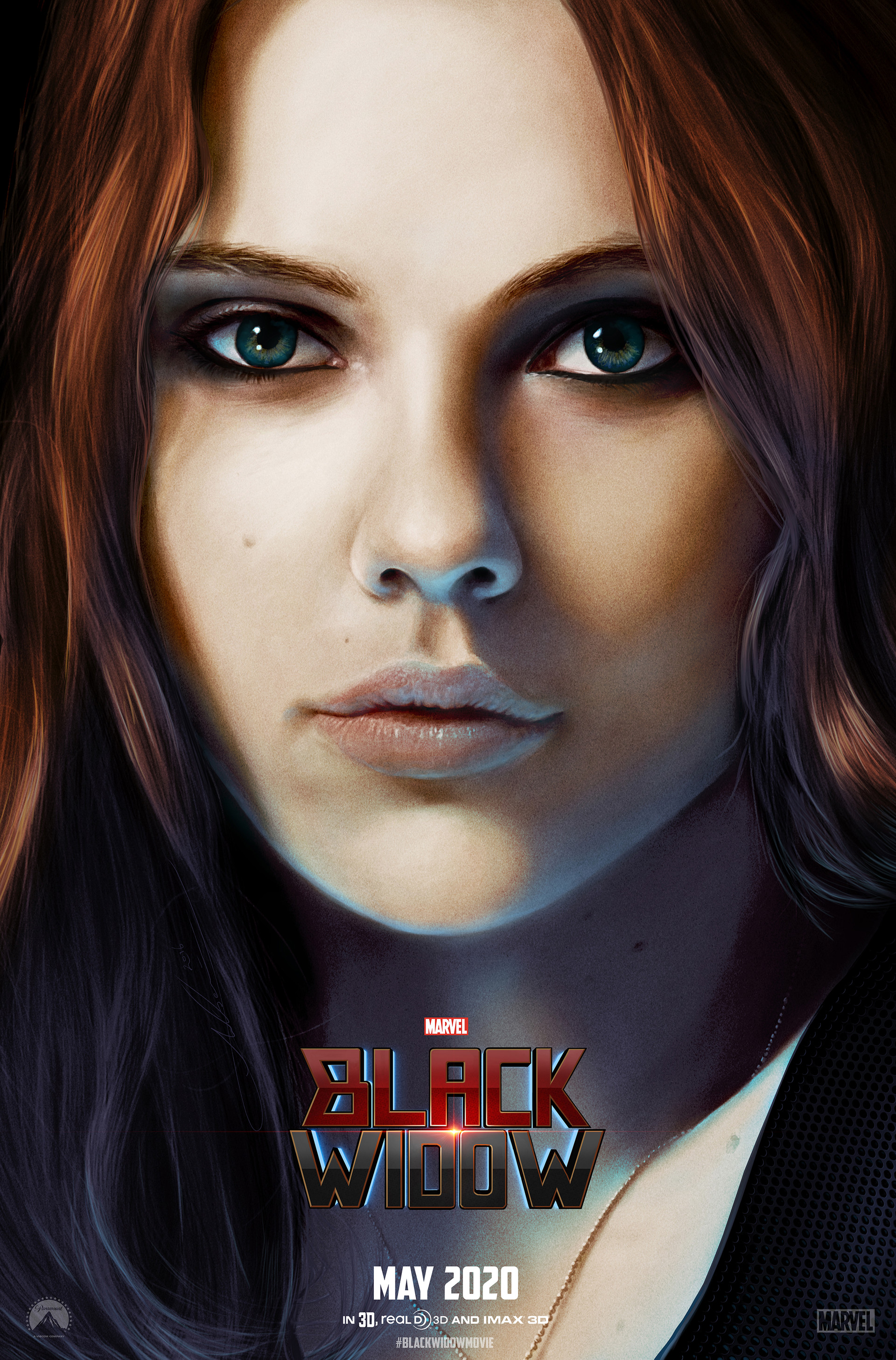Aaron Luke Wilson - Black Widow