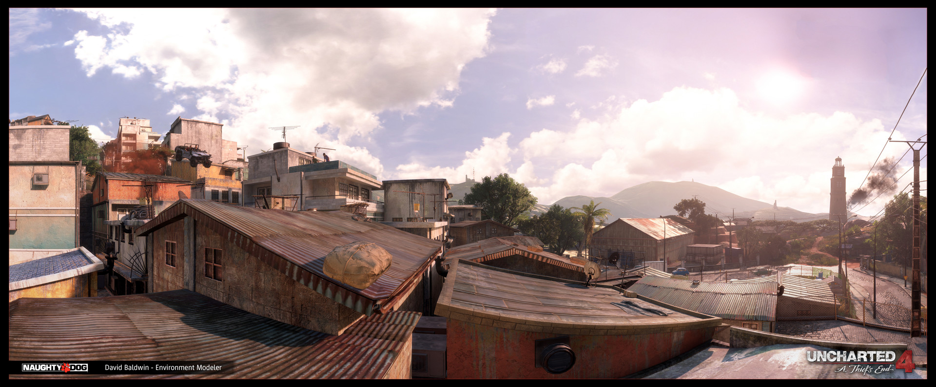 Madagascar City - Rooftops