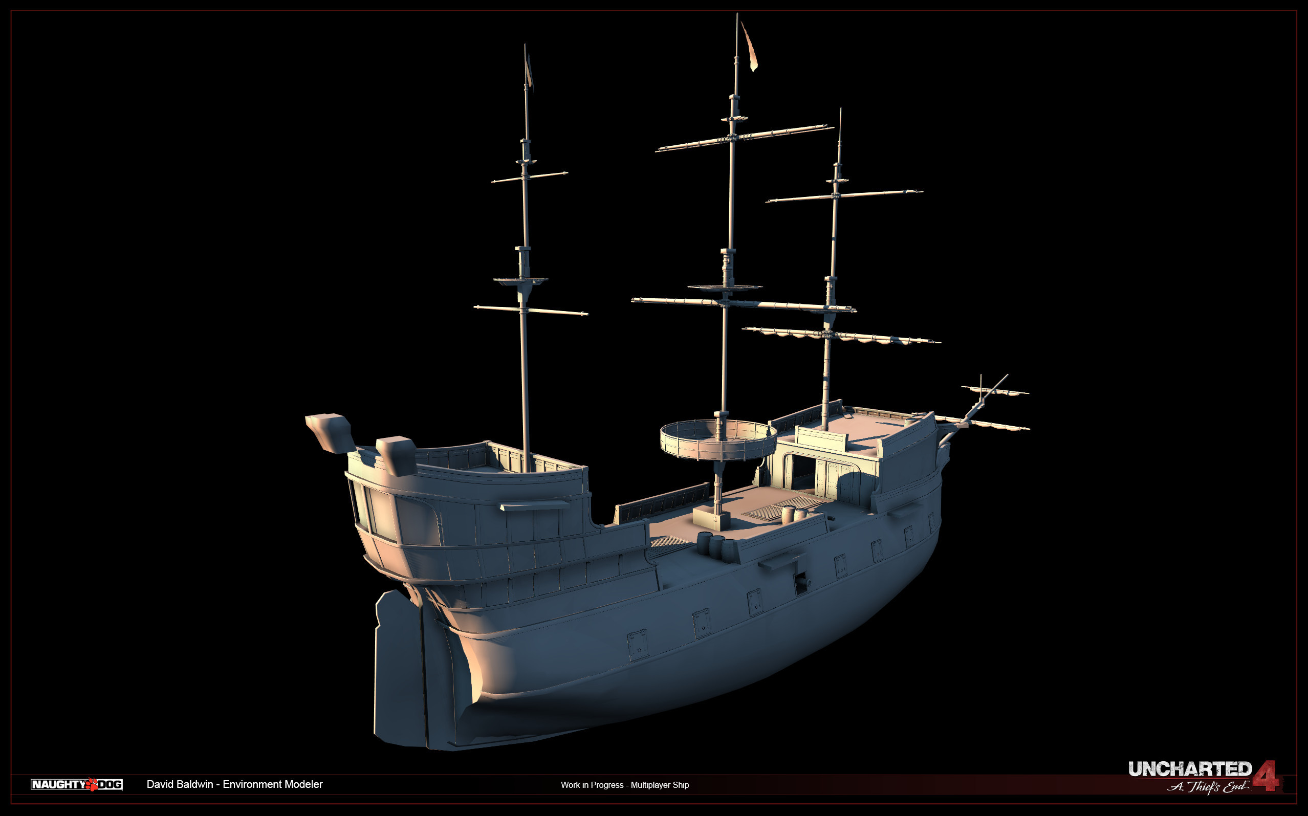 Multiplayer Ship - WIP