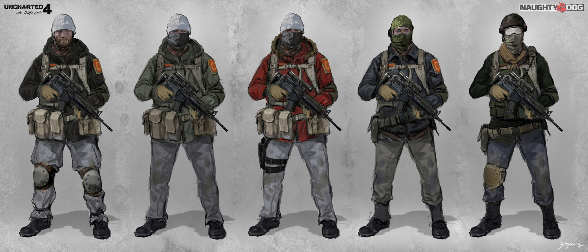 Hyoung nam enemy soldier 02