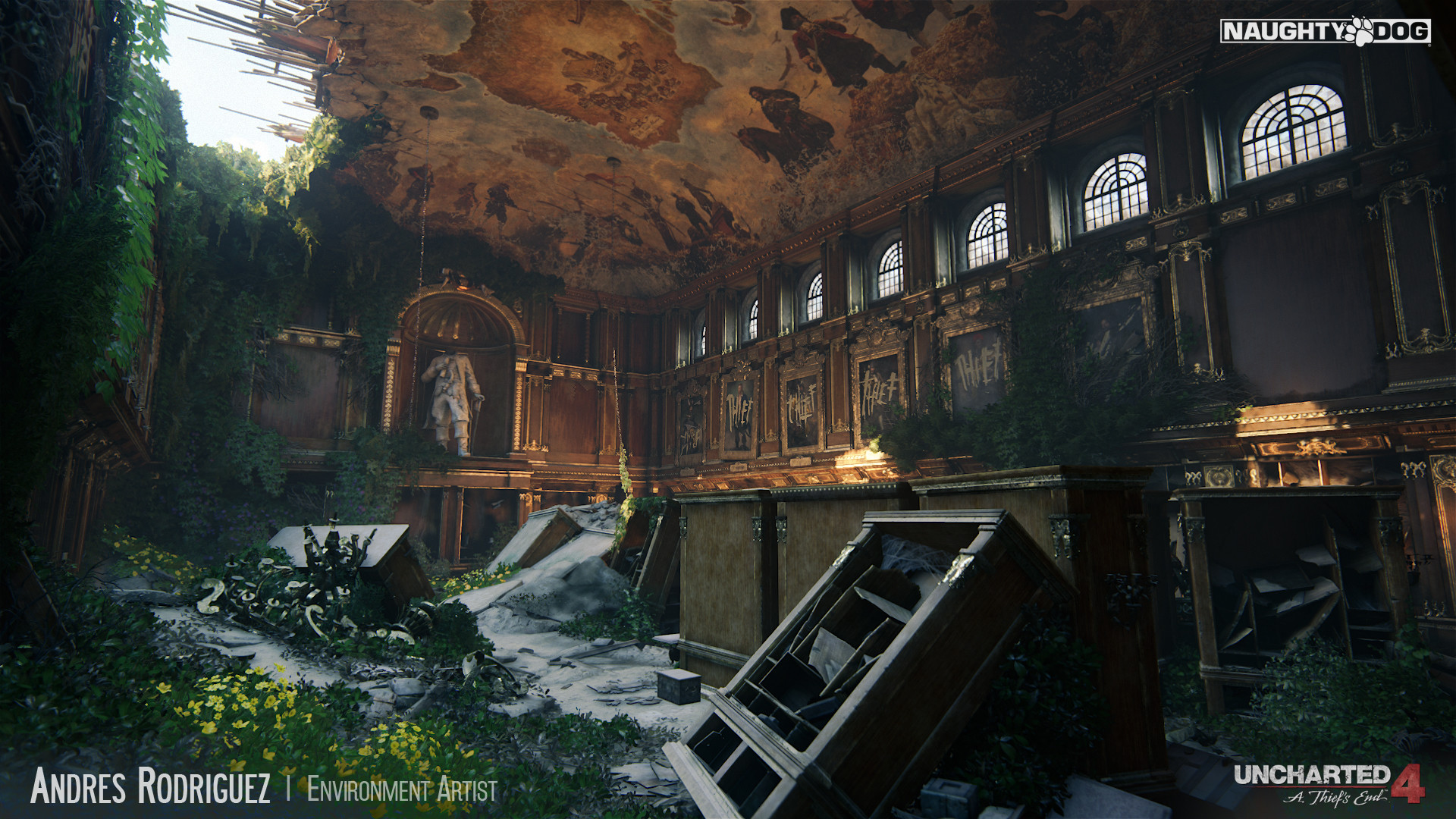 andres rodriguez - uncharted 4