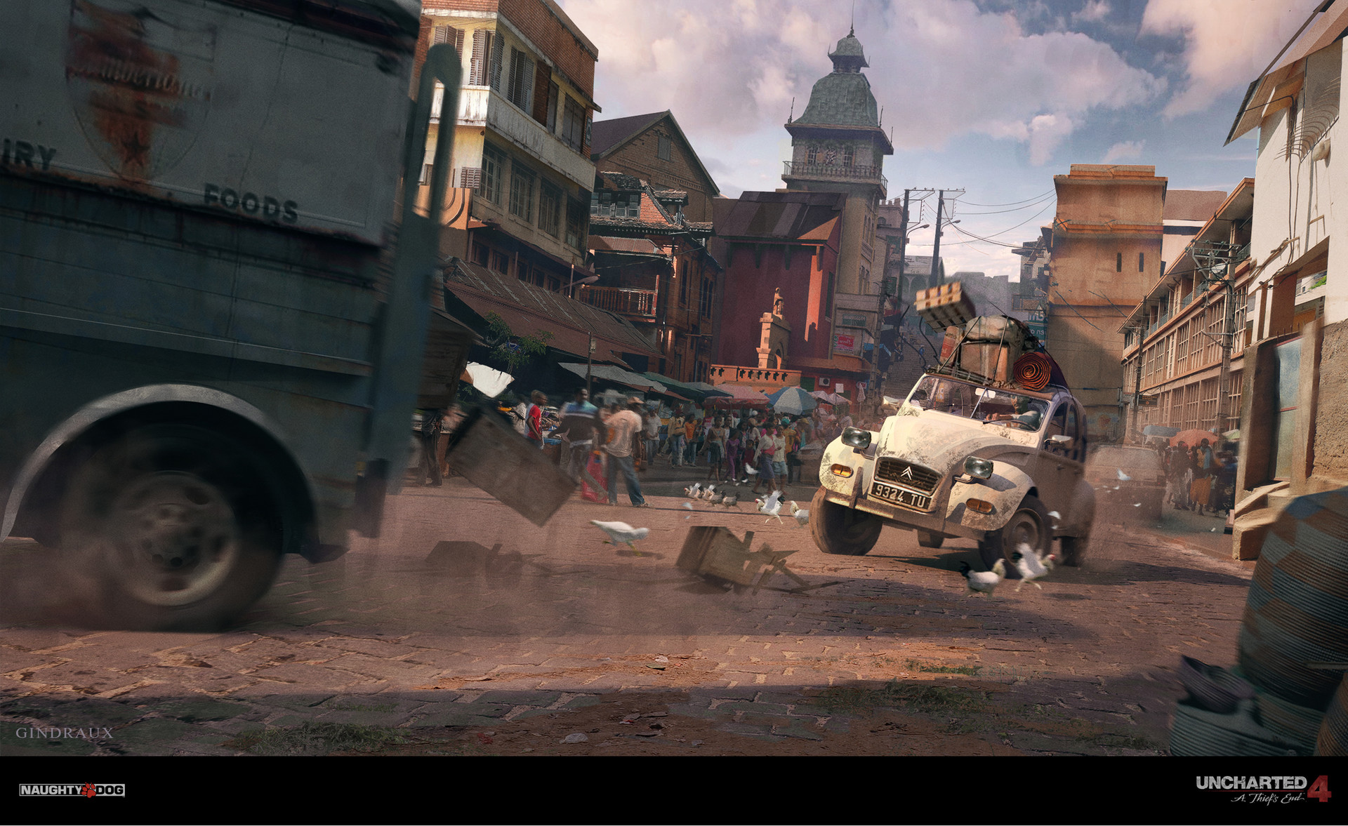 Nick Gindraux Uncharted 4 Car Chase