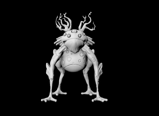 Creature Front View