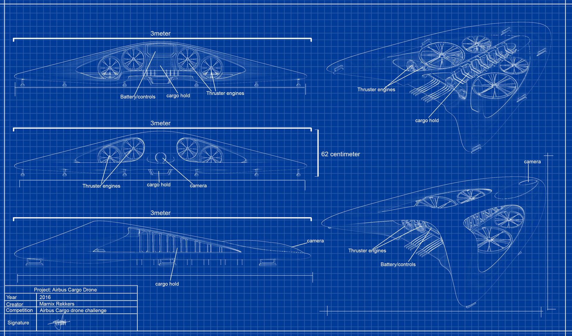 ArtStation - Arrowhead Drone, Marnix Rekkers on