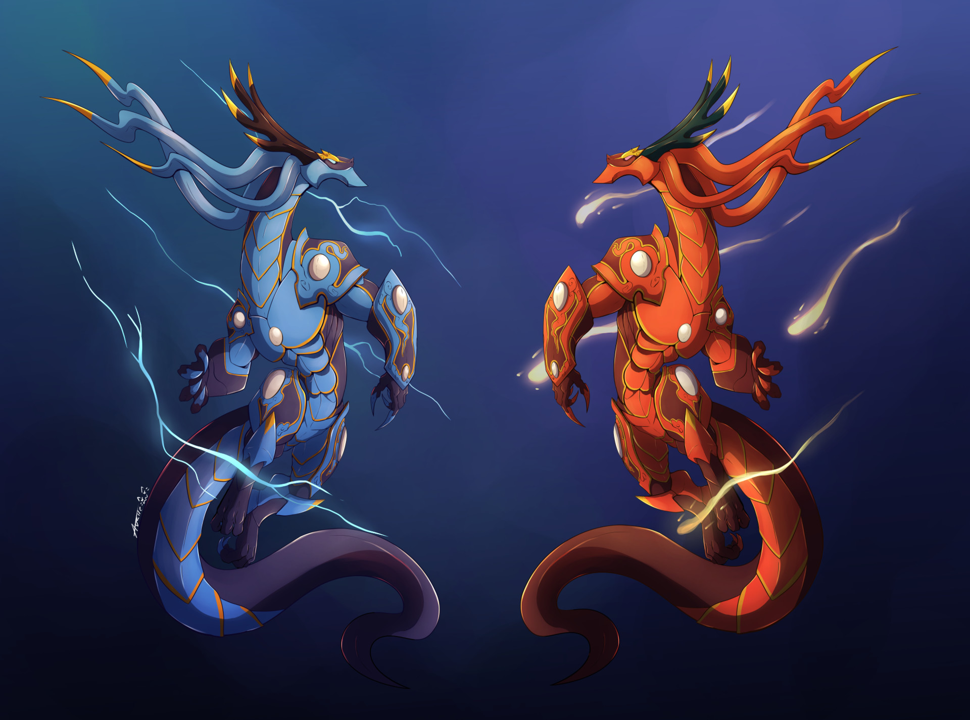 Annalicia valle dragon twins