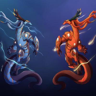 Annalicia valle dragon twins