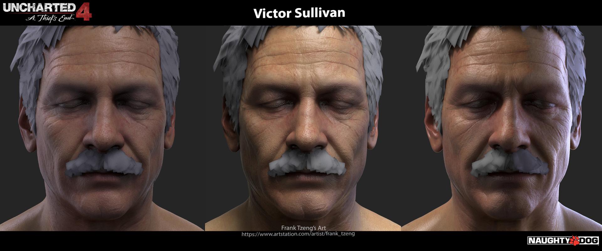 Artstation Uncharted 4 Victor Sullivan Frank Tzeng