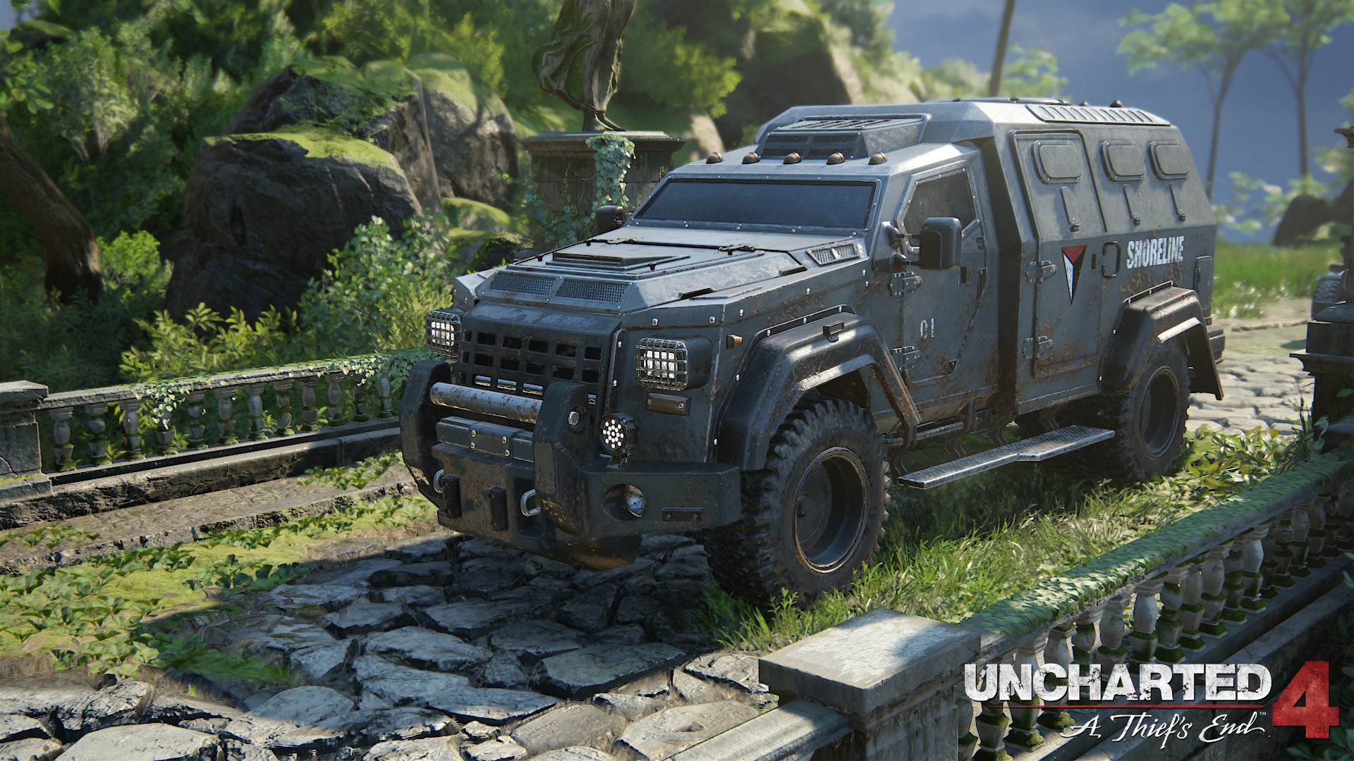 Artstation Uncharted 4 Props Weapons And Vehicles Michel Hatfield