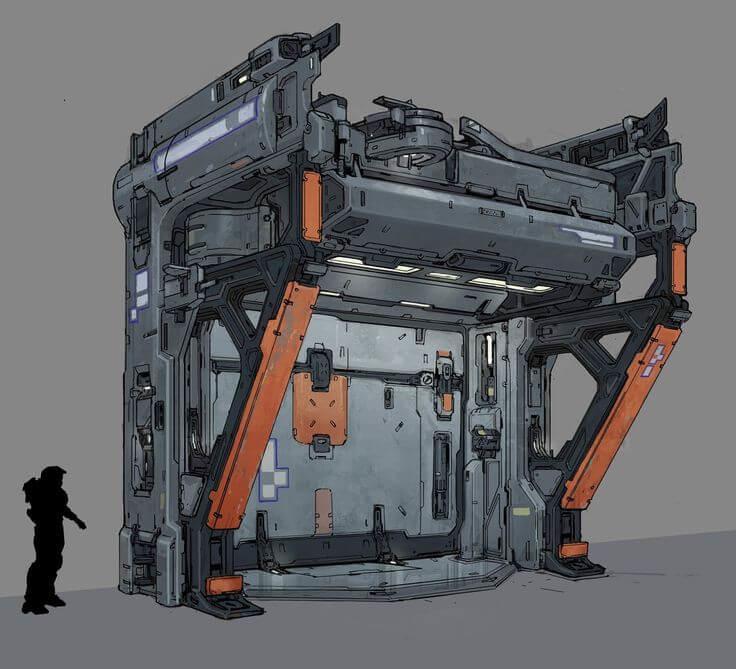 Nicolas crevier halo5 door concept