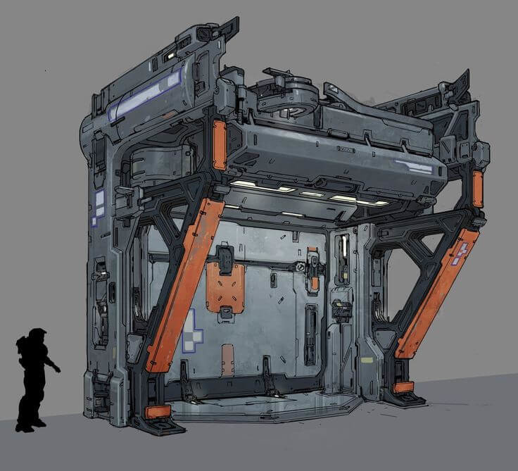 Halo 5: Guardians Concept Art by Kory Lynn Hubbell